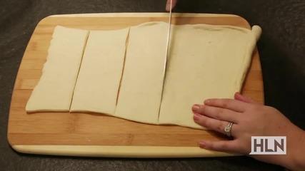 Как да направим пица в купички за кейк