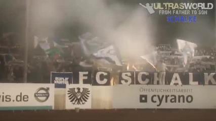 Ultras World във Германия - Fc Schalke 04 Ultras.