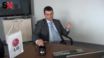 Интервю с Димитър Вълев - Мениджър Мобилни Комуникации в Lg България