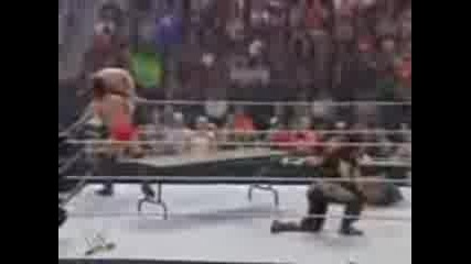 Wwe One Night Stand 2007 6 Man Tag Team Tables Match