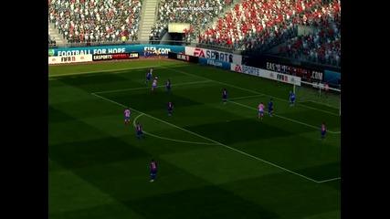 Голът на Габи - Fifa 11