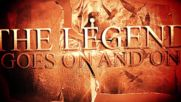 Rhapsody Of Fire - The Legend Goes On (2018 Official Lyric Video)