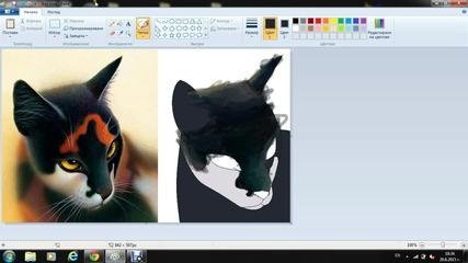Warrior cats-sol speedpaint