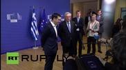 Belgium: Juncker 'slaps' Tsipras ahead of last-ditch debt talks