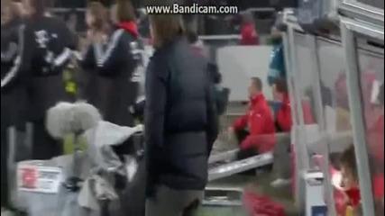 Феноменален гол на Алкантара !!!