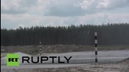 Russia: Paratroopers compete in Airborne Platoon stage of Army Games 2015