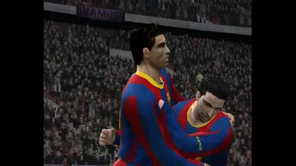 Pes Fc Barcelona - Manchester United