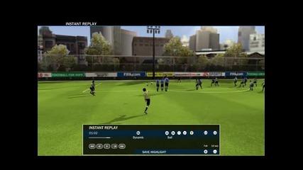 Fifa 10 - Гол на Раул
