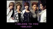 Бг Превод ~ Mblaq - I Belong To You