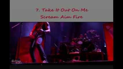 10 The Best Bullet For My Valentine Solos