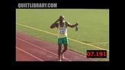 Usain Bolt Празнува Рано...много Рано