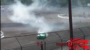 Drifting Mustang vs Bmw V10 Formula D Round 3 Nj 2010