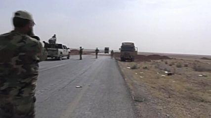 Syria: Army advance toward IS 'capital' Raqqah