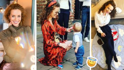 Синът на Гери Малкоданска вече е християнче! Вижте кръщенето на Лео!