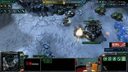 Starcraft 2: Nibiru[z] vs Dominion[t] - Eps квалификация #12