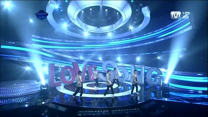 Bigbang - Love Song [live performance M ! Countdown][ Goodbye stage] [високо качество]