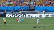 Хондурас 0:3 Швейцария 25.06.2014
