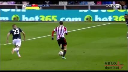 07.01.14 Съндърланд 2 - 1 Манчестър Юнайтед - Capital One Cup - Най-доброто от мача