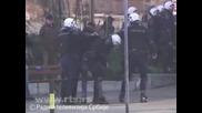 Боеве в Белград Сърбия!? Гей Парад 10.10.2010