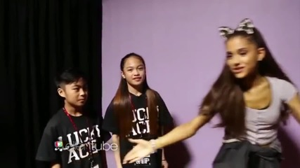 Lucky Aces Joined Ariana Grande Love Me Harder Concert