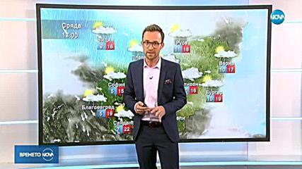 Прогноза за времето (23.10.2018 - централна емисия)