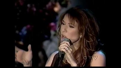 /превод/ Celine Dion - At Last /на живо/