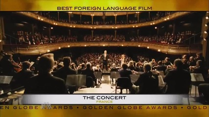 Robert Pattinson Presenting at the Golden Globe Awards 2011
