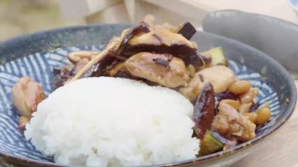 Джъстин Скофийлд | Стир-фрай с пилешко и гъби шийтаке