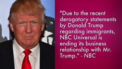NBC Fires Donald Trump from 'The Apprentice'