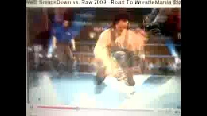 Wwe Raw Vs Smackdown 2009 Road To Wrestlemania Xxiv