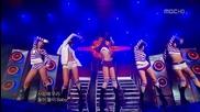After School - Playgirlz + Ah~ ( 17-01-2009 M B C Music Core )
