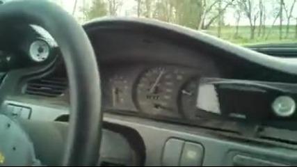 Eто това се казва ускорение на Honda Civic Vtec