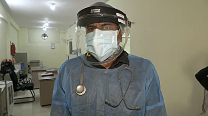 India: Local police officer helps treats COVID-19 patients daily