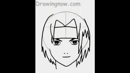 Как Да Нарисуваме Sasuke