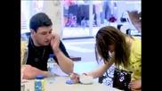 Светлин закача Ванеса Зеленчуци който не яде смях Big Brother Family 30.03.2010