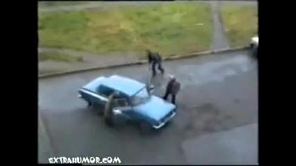 Бой за москвича