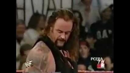 Vince Mcmahon Recieves Stonecold Stunner,rock Bottom, Undertaker Last Ride at the Same Time