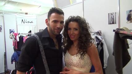 Dancing Stars - Нели и Наско с призив за гласуване (10.04.2014г.)