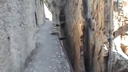 Най - опасното място на земята El Camino del Rey