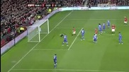 Manchester vs Everton 2:0 21.11.2009 Michael Carrick