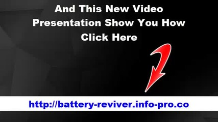 Restore Battery Life, Recondition Car Battery, How To Restore A Dead Battery, Battery Reconditioning