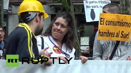 Spain: Thousands march against TTIP in Madrid