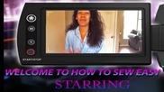 Как да си ушием красива блузка с дантелени ръкави