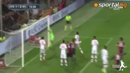 Дженоа - Милан 1-2