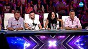 Георги, Роза, Борис и Цвета - X Factor - Изпитанието на шестте стола (08.10.2017)