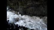 Извора на река Искрецка в пещера Душника 22.04.10г