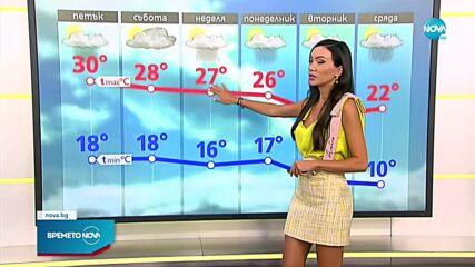 Прогноза за времето (16.09.2021 - сутрешна)