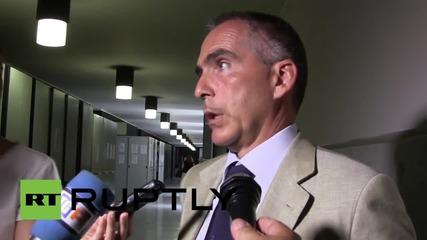 Italy: Ex-Ukrainian MP Markov leaves court in Genoa