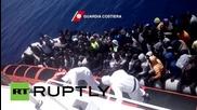 Italy: Coastguard pick up 414 migrants in 4 operations