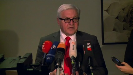 Germany: Syria talks must end 'spiral of violence'- Steinmeier